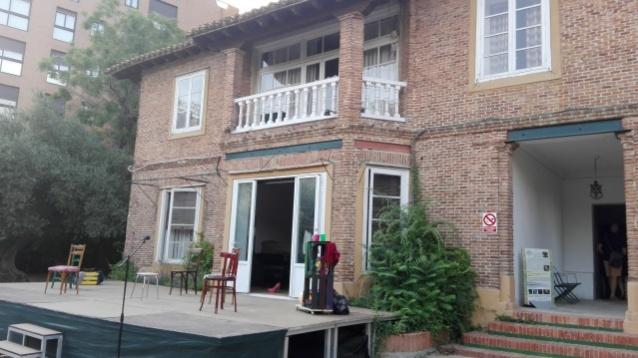 Escenario en la casa de Castillejo