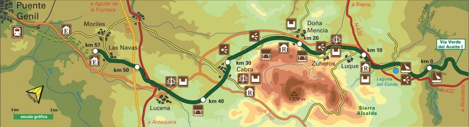 Mapa Vía Verde