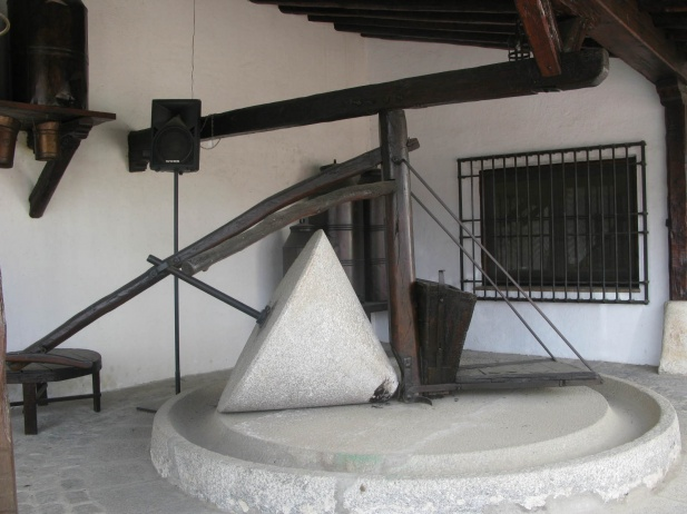 Molino de piedra