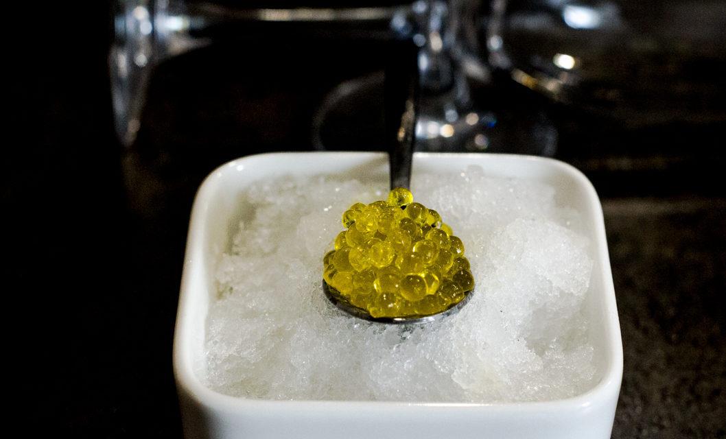Caviar de AOVE. Una idea muy «redonda»